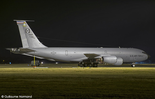Boeing KC135R United States Air Force 57-1493
