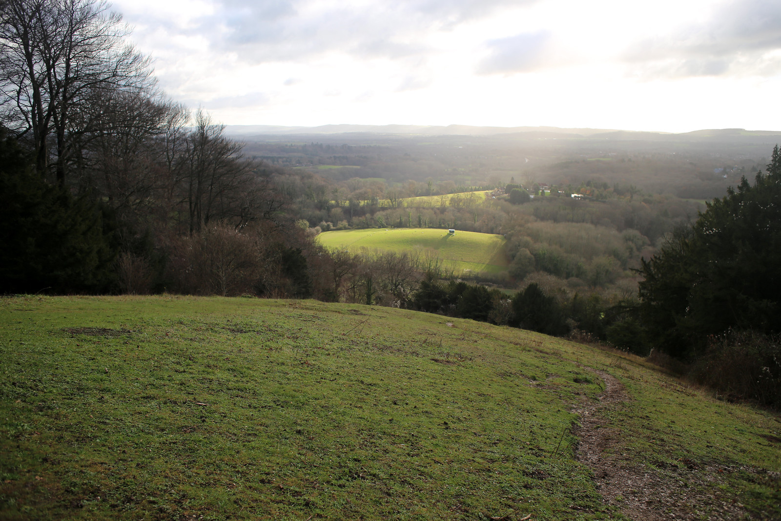 View form the Shoulder of Mutton Hill