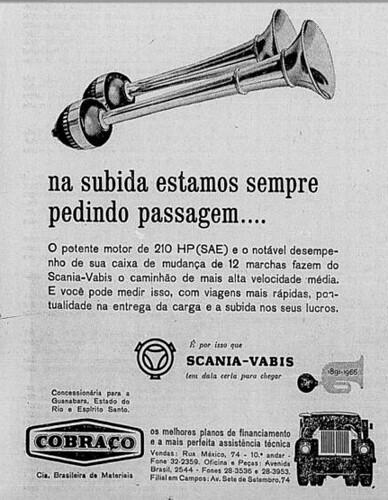 SCANIA BRASIL 1966