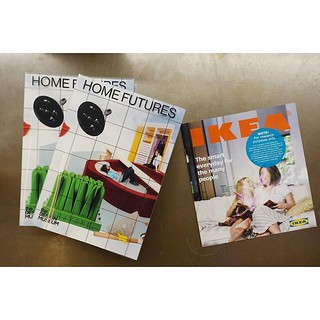 Home Futures Exhibition @ Design Museum featuring work we did creating the Ikea Catalog from The Future @nearfuturelaboratory - printed catalogs are available at the exhibition to attendees! | by JulianBleecker
