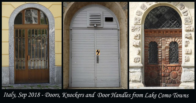 ITALY SEP 2019 - Lake Como Doors and Knockers (18 - 20)