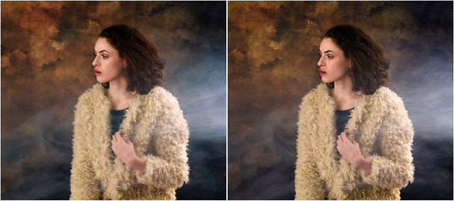 Emily (2) - stereo cross-view