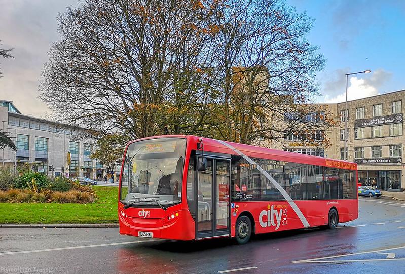 Plymouth Citybus 147 WJ65HMA