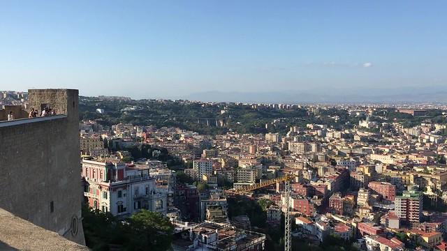 Video: Napoli from Castel Sant'Elmo