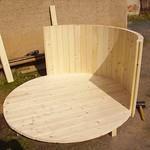 Aufbau eines Badefasses