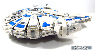 Side view of the Millennium Falcon | by WhiteFang (Eurobricks)