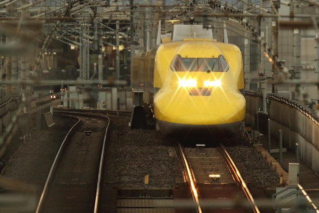 DOCTOR YELLOW ---The high speed test train---