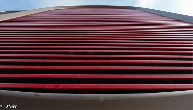 Battersea apartments - vent - looking up