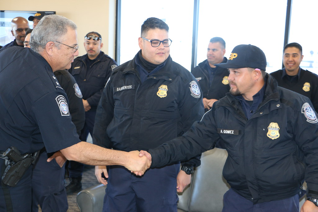 CBP officers deploy from El Paso in Support of Operation S