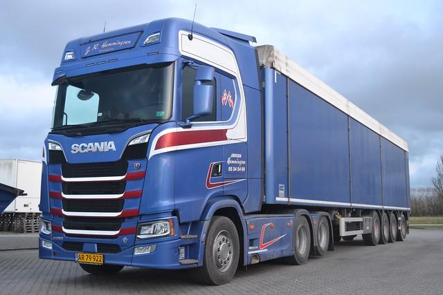Scania NG S 580 V8 - J.R. Hemmingsen Vordingborg - DK AR 79 922