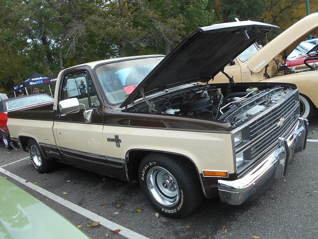 1984 Chevy Silverado >> 1984 Chevy C 10 Silverado Beers Gears Fall Show At Delaw