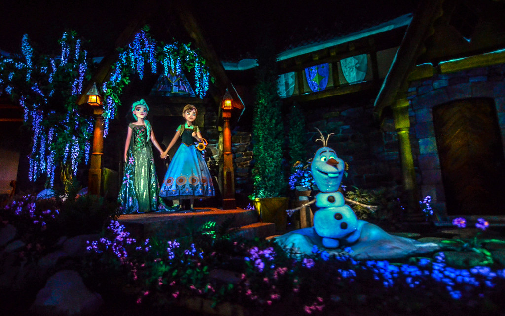 Frozen Ever After final scene Epcot
