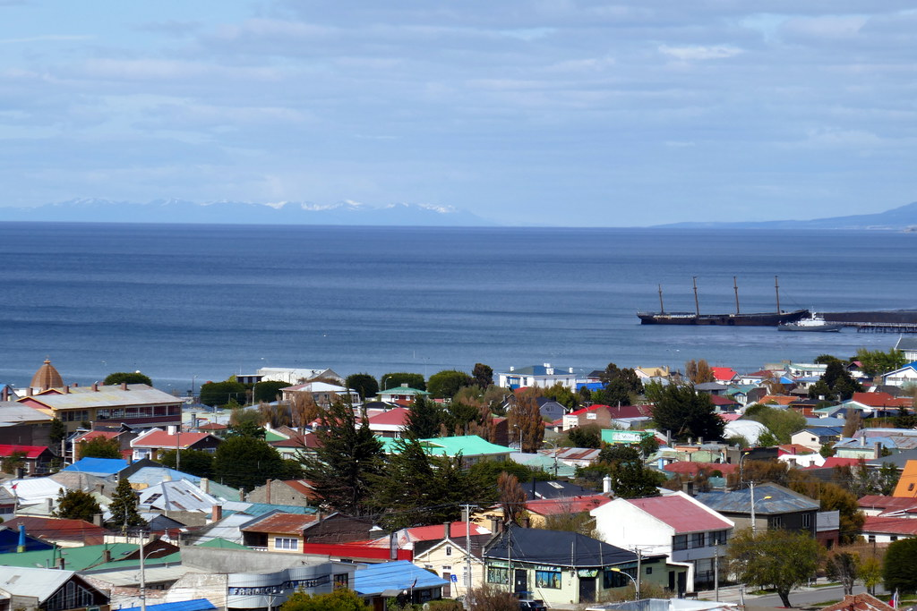 Views over Punta Arenas