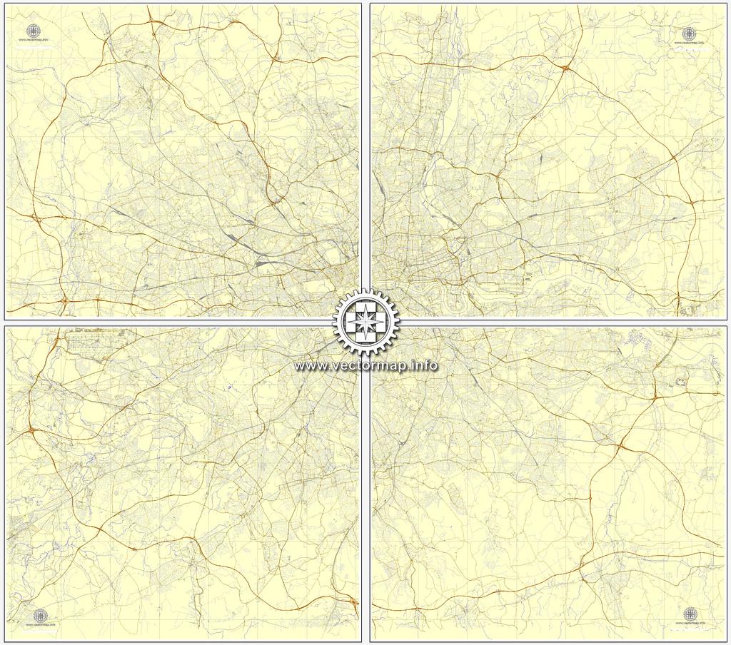 Street Map London Uk.London Map Uk England Printable Vector Street Map Simple E Flickr