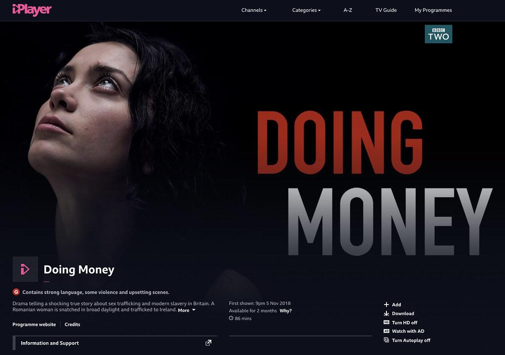 Doing Money on BBC iPlayer | Phil Sharp | Flickr