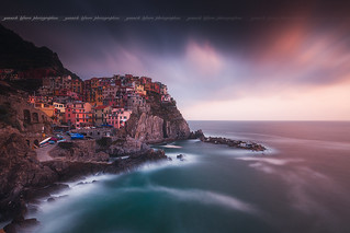 Manarola kissed by a sunset ... ( Cinque Terre National Park, Liguria - Italy ) | by Yannick Lefevre