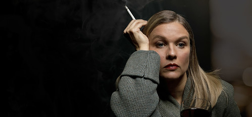 Karin Oscarsson som Joni Mitchell
