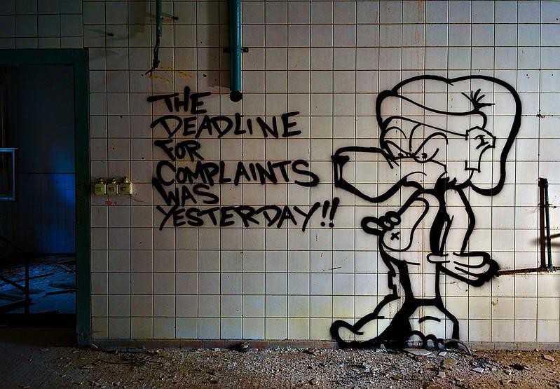 Deadline for complaints