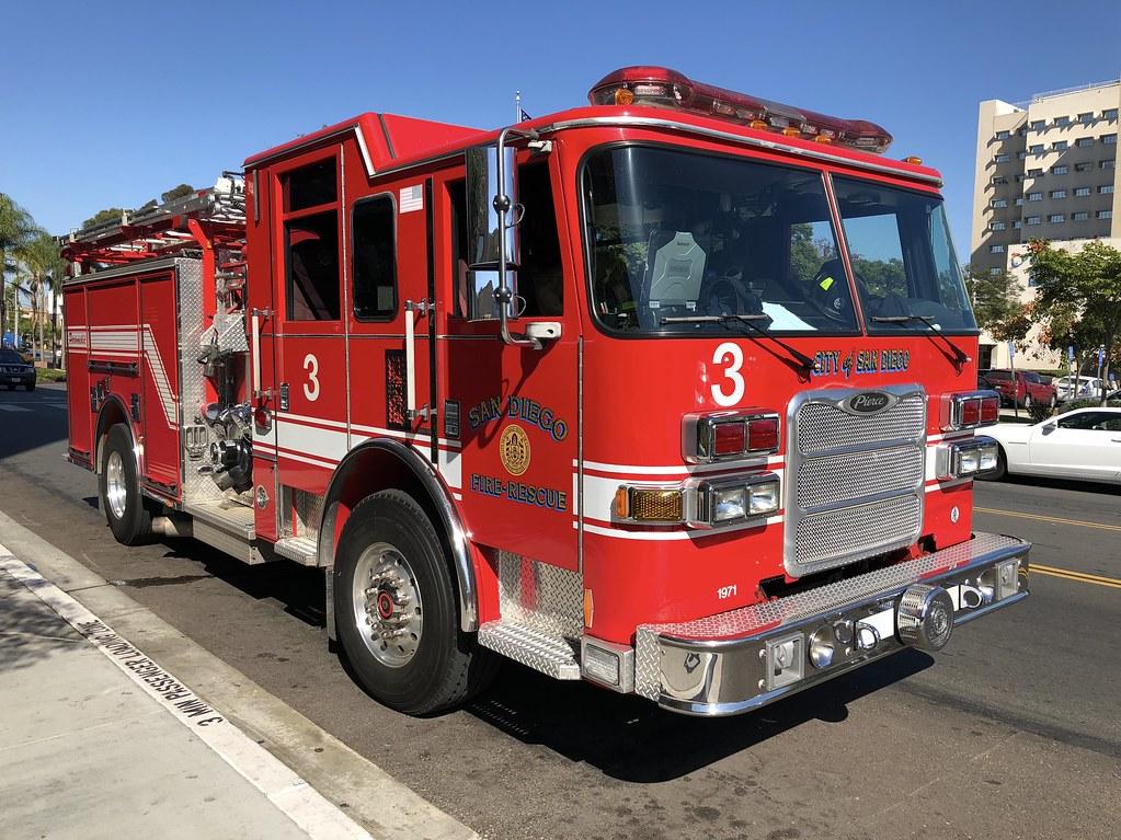 San Diego Fire | San Diego Fire-Rescue Department Engine 3