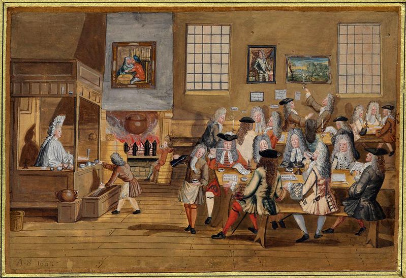 Quán cà phê - Coffee House ở London, Anh, những năm 1700