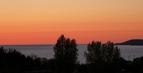 petoskey michigan sunset lakemichigan