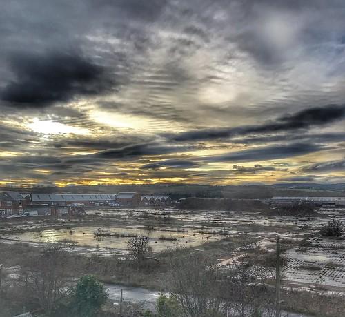 sunset clouds royalordinancefactory tynewear gateshead birtley appleiphone7plus