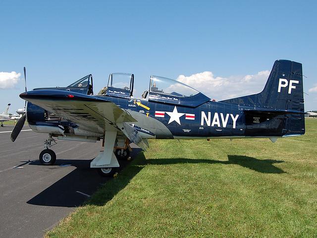 N555PF North American T-28B Trojan
