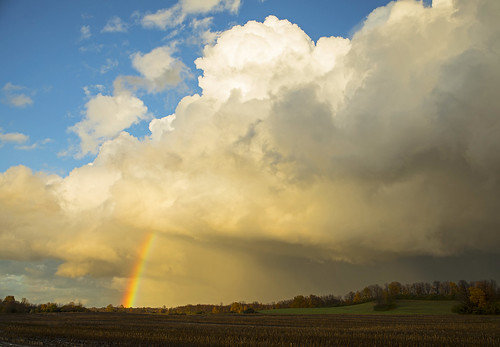 crazy rainbow rain amazing sunset fall november weather nature farm farming autumn foliage beautiful clouds hope life idyllic new york canon 2018 newyork peaceful rainy fullrainbow doublerainbow