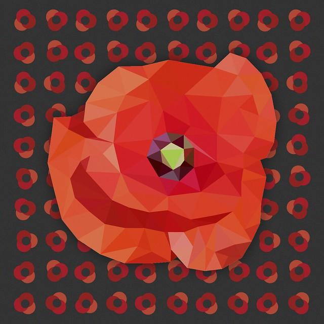 Poppy Poly Art