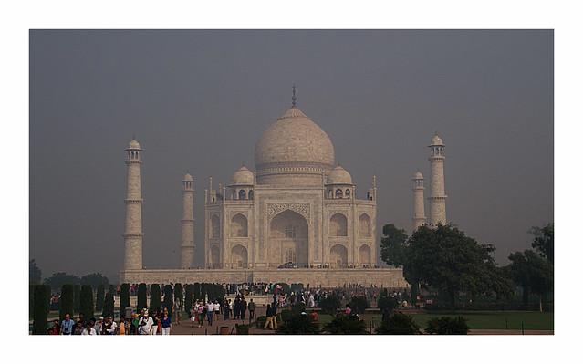 Taj Mahal - am Ziel meiner Wünsche
