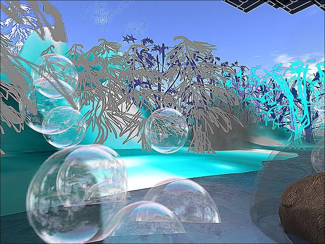 LEA11:  -Mixtape Winter --Bubbles Flow Before A Winter Wood