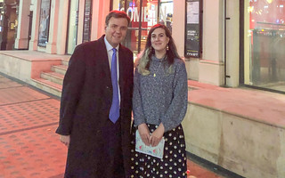 Greg visits outreach staff at the Royal Court Theatre | by Greg Hands