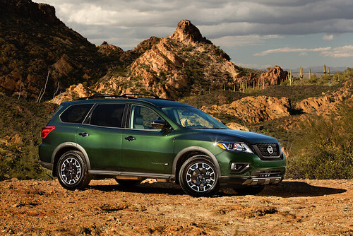 2019 Nissan Pathfinder Rock Creek Edition: Chicago Auto Show Photo