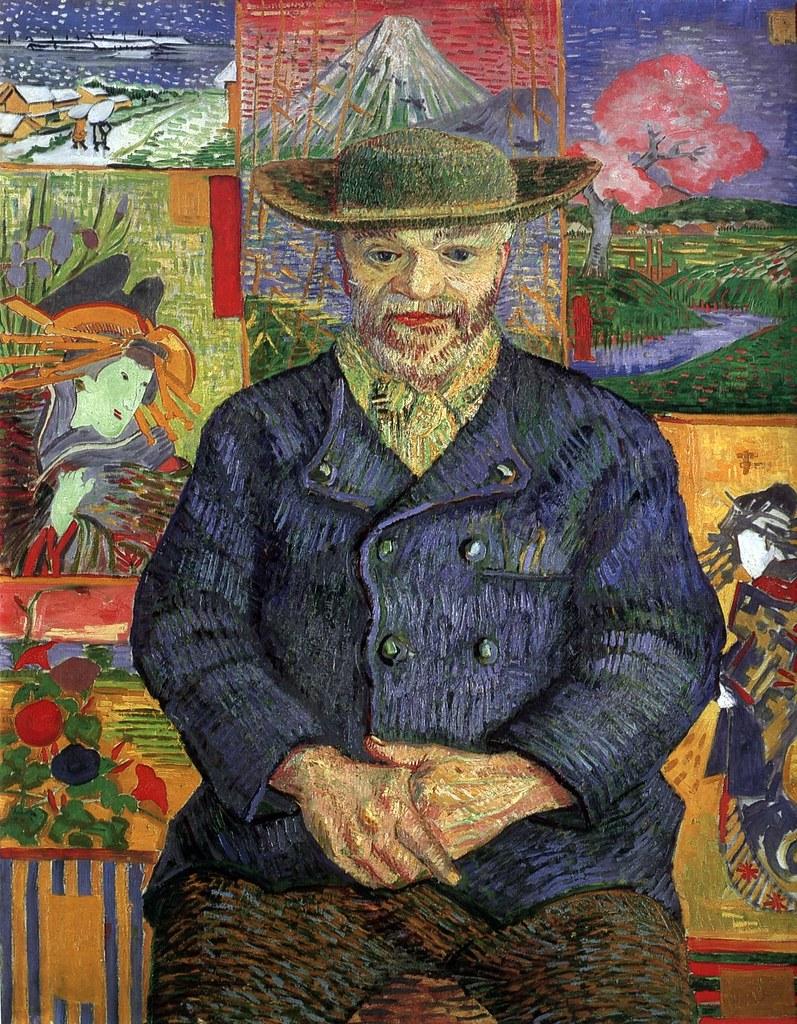 Portrait du père Tanguy (V van Gogh - F 363/JH 1351) | Flickr