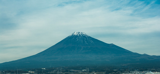 #330 Mt Fuji from the train