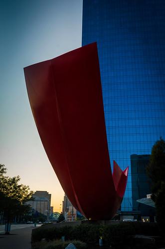 red art thing sunrise indianapolis インディアナポリス indiana インディアナ州 unitedstates usa アメリカ合衆国 アメリカ 8月 八月 葉月 hachigatsu hazuki leafmonth 2018 平成30年 summer august