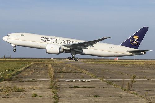 Saudia Cargo B77F HZ-AK74 | by Maarten Dols