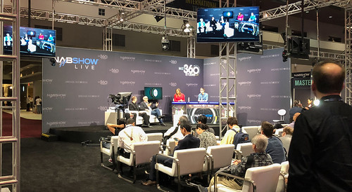 NABShow Live / Podcast area | by peterl