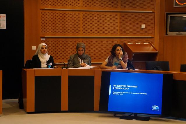 El-Hiwar II: First institutional seminar in Brussels