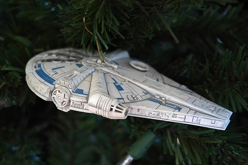 Millenium Falcon Christmas ornament | by BarryFackler