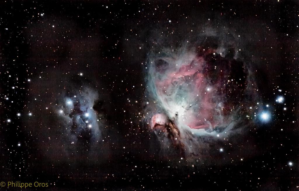 Nébuleuse d'Orion et Running man