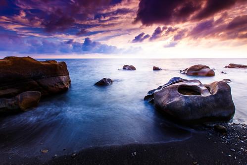 taiwan 屏東 枋山 夕陽 sunset sea 台灣