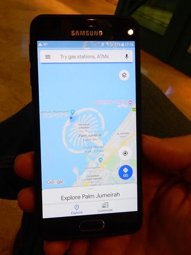 Palm Jumeirah - bewijs dat we er zijn