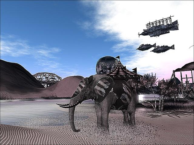 Alpha Tribe -Disinterested Elephant