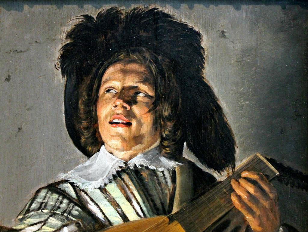 Judith Leyster  The Serenade  1629  detail   arthistory390