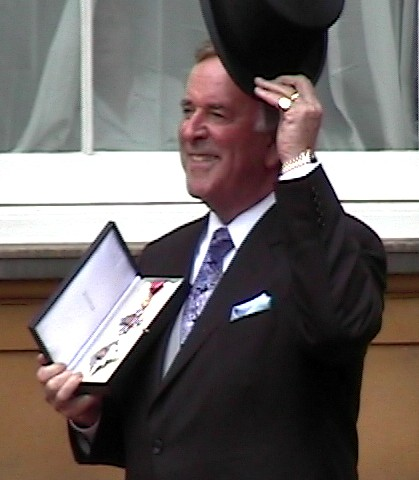 Terry_Wogan_MBE_Investiture | by arthur.strathearn