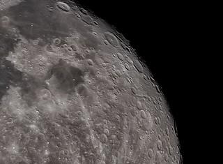 Moon 12/23/18, 97%, Close crop near Tycho