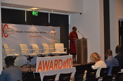 Nov/2018 - ILRI has benefited from the African Women in Agricultural Research and Development (AWARD) program over the past 10 years, to enhance the capacity of its women scientists (photo credit: ILRI/ Judy Kimani).