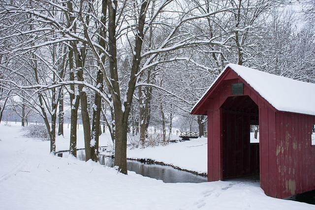 Cold-Covered Bridge