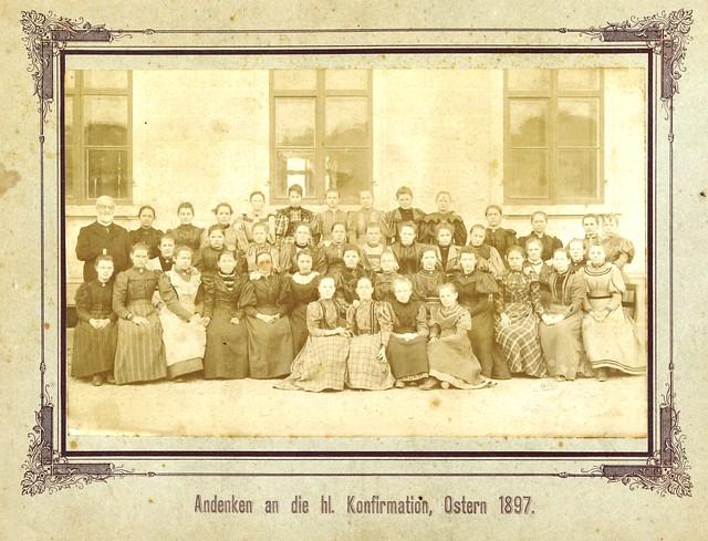 Kirchgemeinde-Konfirmationsfotos